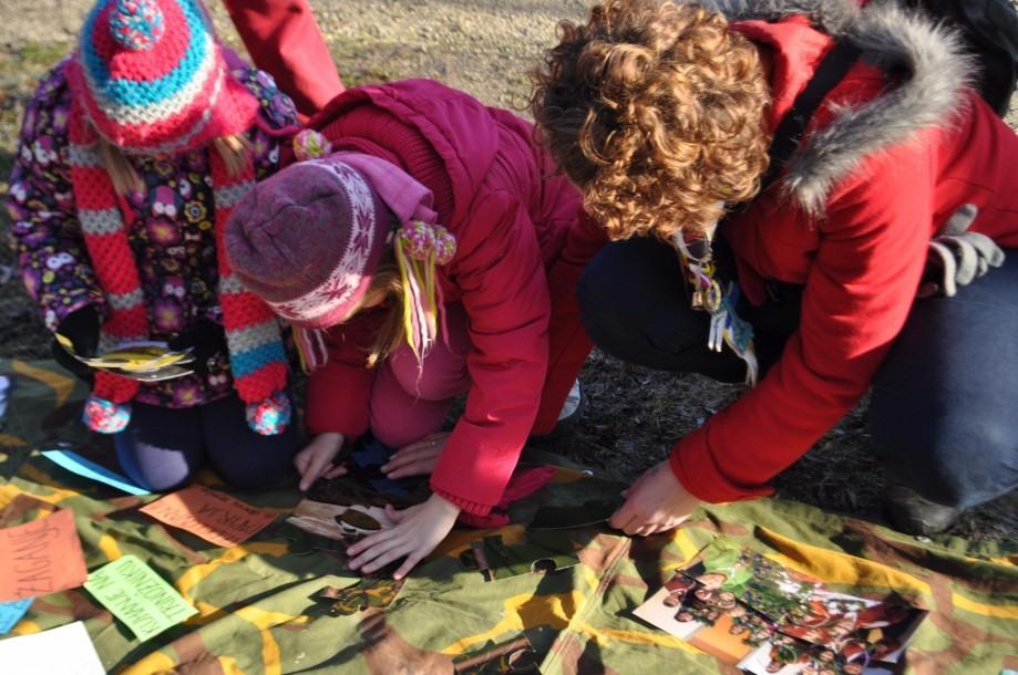 Dijaki na praksi + mladinski center = Zimska šola kreativnosti