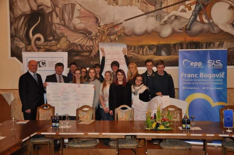 Projekt Najdi pot v lokalno skupnost – Mladi odločevalci v Občini Slovenske Konjice kot model dobre prakse za EU