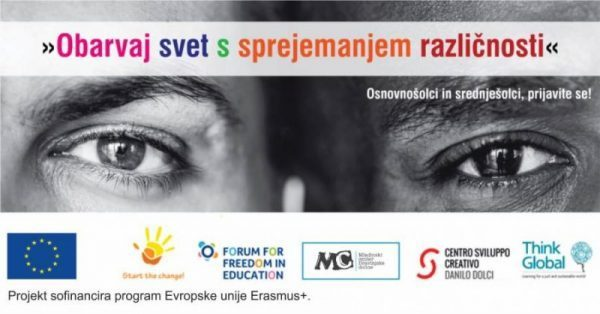 Kreativni natečaj »Obarvaj svet s sprejemanjem različnosti«