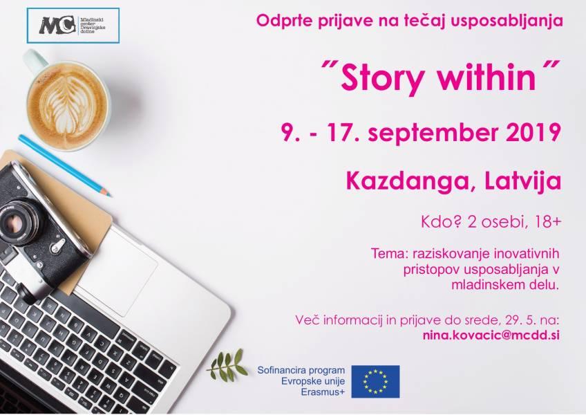 Odprte prijave za tečaj usposabljanja v Latviji
